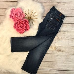 7 For All Mankind crop Josefina skinny jeans 26